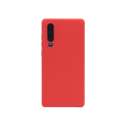 Huawei P30 - Silikonski ovitek (matt) - Soft - Red