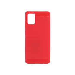 Samsung Galaxy A51 - Gumiran ovitek (TPU) - rdeč A-Type