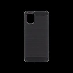 Samsung Galaxy A71 - Gumiran ovitek (TPU) - črn A-Type