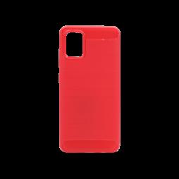 Samsung Galaxy A71 - Gumiran ovitek (TPU) - rdeč A-Type