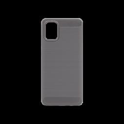 Samsung Galaxy A71 - Gumiran ovitek (TPU) - siv A-Type