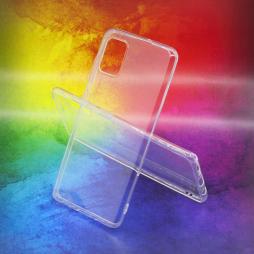 Samsung Galaxy A51 - Gumiran ovitek (TPUA) - prosojen