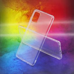 Samsung Galaxy A71 - Gumiran ovitek (TPUA) - prosojen