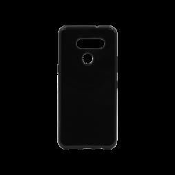 LG K50S - Gumiran ovitek (TPU) - črn svetleč