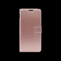 LG K40S - Preklopna torbica (WLC) - roza-zlata