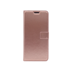 LG K50S - Preklopna torbica (WLC) - roza-zlata