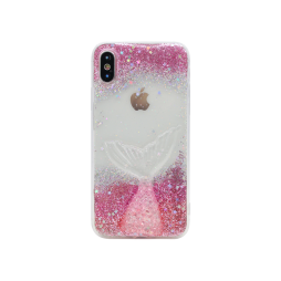 Apple iPhone X/XS - Gumiran ovitek (TPU3D) - vzorec 4