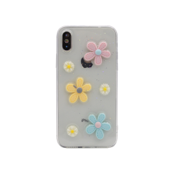 Apple iPhone X/XS - Gumiran ovitek (TPU3D) - vzorec 8