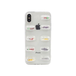 Apple iPhone X/XS - Gumiran ovitek (TPU3D) - vzorec 12