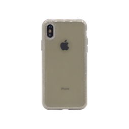 Apple iPhone X/XS - Gumiran ovitek (TPUB+PC) - rjav R4