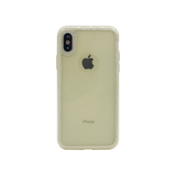 Apple iPhone X/XS - Gumiran ovitek (TPUB+PC) - zlat R6