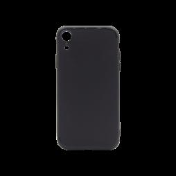 Apple iPhone XR - Gumiran ovitek (TPU) - črn MATT