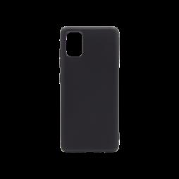 Samsung Galaxy A71 - Gumiran ovitek (TPU) - črn MATT