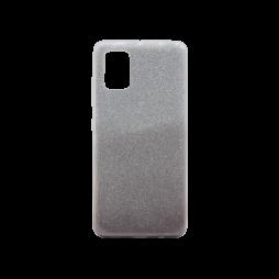 Samsung Galaxy A71 - Gumiran ovitek (TPUB) - kavna