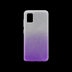 Samsung Galaxy A71 - Gumiran ovitek (TPUB) - vijolična