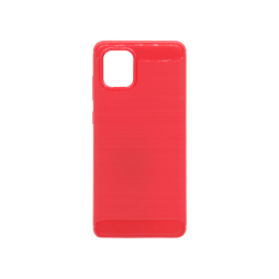 Samsung Galaxy Note 10 Lite - Gumiran ovitek (TPU) - rdeč A-Type