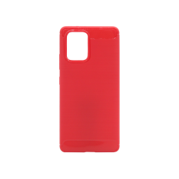 Samsung Galaxy S10 Lite - Gumiran ovitek (TPU) - rdeč A-Type