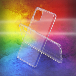 Samsung Galaxy Note 10 Lite - Gumiran ovitek (TPUA) - prosojen