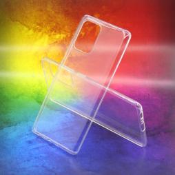 Samsung Galaxy S10 Lite - Gumiran ovitek (TPUA) - prosojen