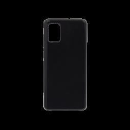 Samsung Galaxy A51 - Gumiran ovitek (TPU) - črn svetleč