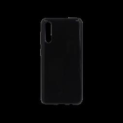 Samsung Galaxy A50/A50s/A30s - Gumiran ovitek (TPU) - črn svetleč