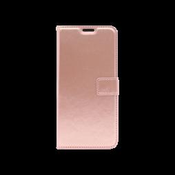 Huawei P Smart Pro (2019) - Preklopna torbica (WLC) - roza-zlata