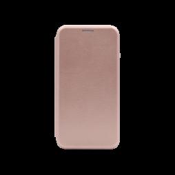 Apple iPhone 11 Pro-Max -  Preklopna torbica (WLS) - roza-zlata
