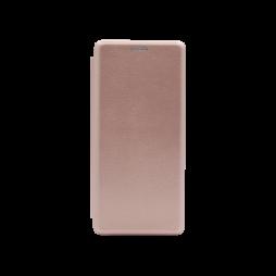 Samsung Galaxy A71 - Preklopna torbica (WLS) - roza-zlata
