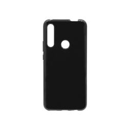 Huawei P Smart Pro (2019) - Gumiran ovitek (TPU) - črn svetleč