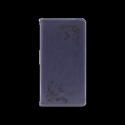 Samsung Galaxy A51 - Preklopna torbica (WLGO-Butterfly) - modra