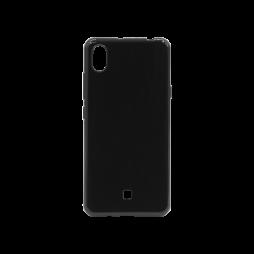 LG K20 - Gumiran ovitek (TPU) - črn svetleč