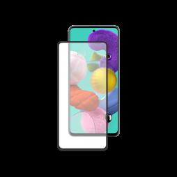 Samsung Galaxy A51 - Zaščitno steklo Premium - črno do roba (0,30)