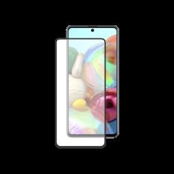 Samsung Galaxy A71 - Zaščitno steklo Premium - črno do roba (0,30)