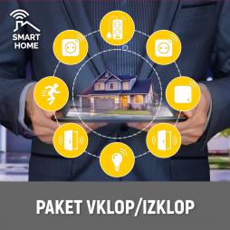 Pametni dom - Komplet Vklop/Izklop - Chameleon Smart Home