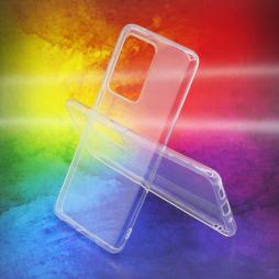 Samsung Galaxy S20 Ultra - Gumiran ovitek (TPUA) - prosojen