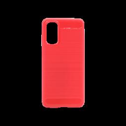 Samsung Galaxy S20+ - Gumiran ovitek (TPU) - rdeč A-Type