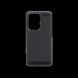 Samsung Galaxy S20 Ultra - Gumiran ovitek (TPU) - črn A-Type