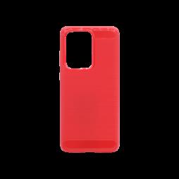 Samsung Galaxy S20 Ultra - Gumiran ovitek (TPU) - rdeč A-Type