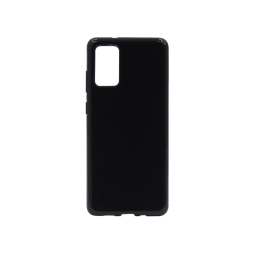 Samsung Galaxy S20 - Gumiran ovitek (TPU) - črn svetleč