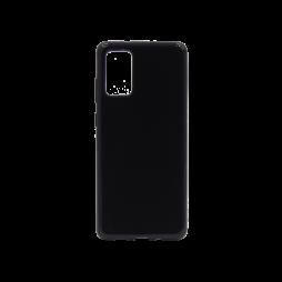 Samsung Galaxy S20+ - Gumiran ovitek (TPU) - črn svetleč