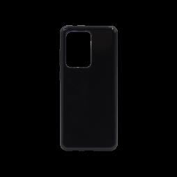 Samsung Galaxy S20 Ultra - Gumiran ovitek (TPU) - črn svetleč