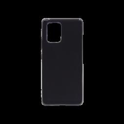 Samsung Galaxy S10 Lite - Gumiran ovitek (TPU) - črn svetleč