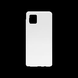 Samsung Galaxy Note 10 Lite - Gumiran ovitek (TPU) - belo-prosojen svetleč