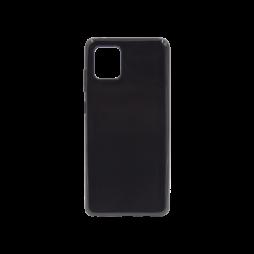 Samsung Galaxy Note 10 Lite - Gumiran ovitek (TPU) - črn svetleč
