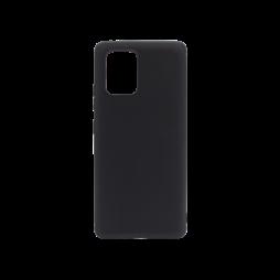 Samsung Galaxy S10 Lite - Gumiran ovitek (TPU) - črn MATT
