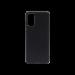 Samsung Galaxy S20+ - Gumiran ovitek (TPU) - črn MATT