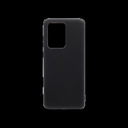 Samsung Galaxy S20 Ultra - Gumiran ovitek (TPU) - črn MATT