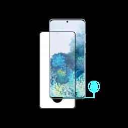 Samsung Galaxy S20 - Zaščitno steklo Premium (0,33) - case-friendly, črno