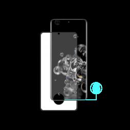 Samsung Galaxy S20 Ultra - Zaščitno steklo Premium (0,33) - case-friendly, črno