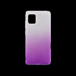 Samsung Galaxy Note 10 Lite - Gumiran ovitek (TPUB) - vijolična
